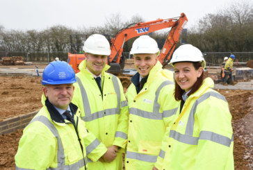 Construction begins on 30 energy-efficient affordable homes in Deddington near Banbury