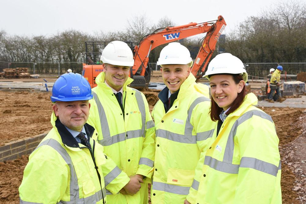 Construction begins on 30 energy-efficient affordable homes in Deddington near Banbury