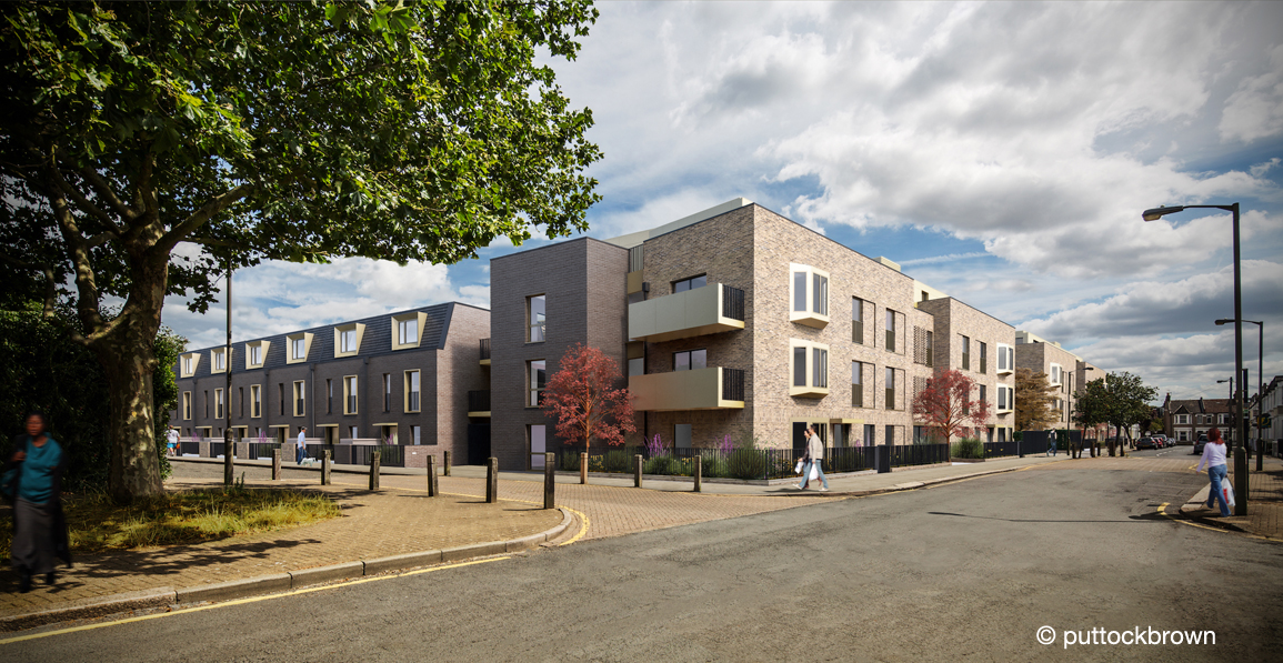 Milestone reached in new homes and health centre plan for Garratt Lane regeneration