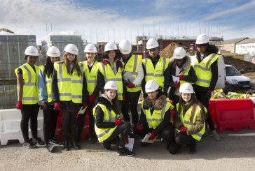 Lovell highlights construction job opportunities for girls on student tour of Electric Quarter development