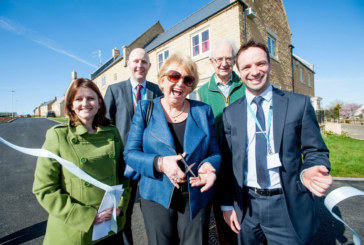 Ribbon-cutting ceremony marks opening of new rental and shared ownership properties financed by Stonewater