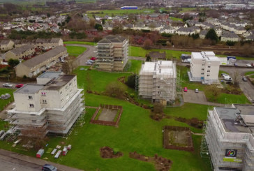 Actavo selected for East Ayrshire Council estate refurbishment project by Northseal Scaffolding