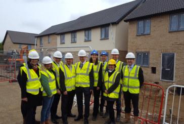 Liberal Democrat Leader's visit puts Cambridge regeneration project in the spotlight