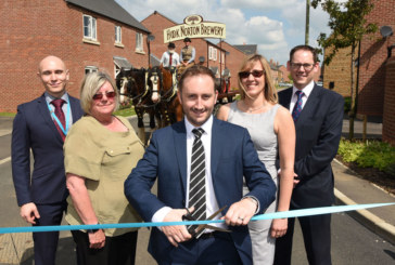 Hook Norton shires meet new Stonewater neigh-bours