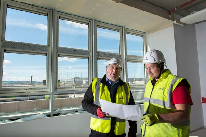 SPIE UK awarded £8m M&E contract at East Ayrshire Council's new William Mcllvanney Campus in Kilmarnock