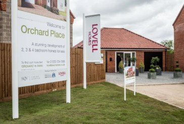 Sales success as new King's Lynn Orchard Place development releases first homes