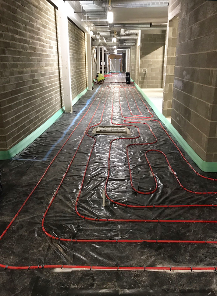 Underfloor heating solution from Giacomini UK specified for £18m Beacon of Light development
