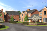 Manor Farm Road housing scheme on site as part of Trafford Housing Trust's JV with L&Q