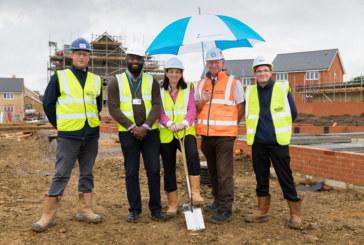 Construction work begins on 49 affordable homes in Shefford
