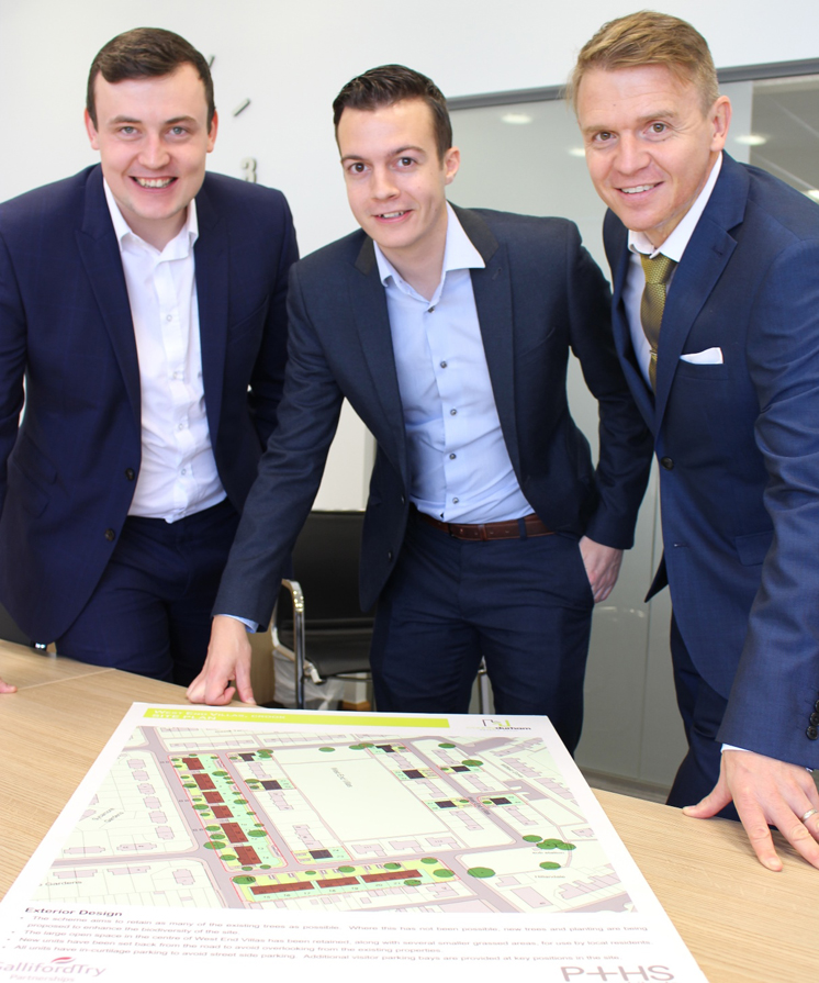 Contract signed to bring £30m new homes programme to Crook in County Durham