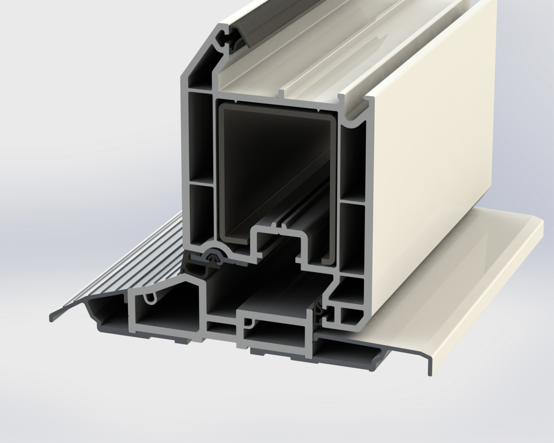 Eurocell Introduces Lower Pvc U Threshold To Its Eurologik