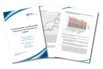 Large-scale housing developments vulnerable to inadequate planning, study of South West region finds