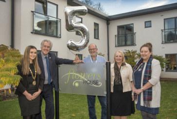 Dementia housing scheme celebrates its fifth birthday