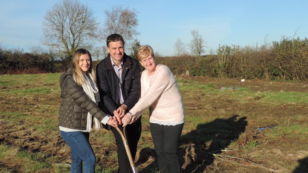 Local housing development gets underway in Walgrave for Community Impact Week