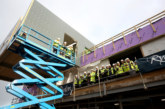 Topping out ceremony marks key milestone in development of £10m community hub