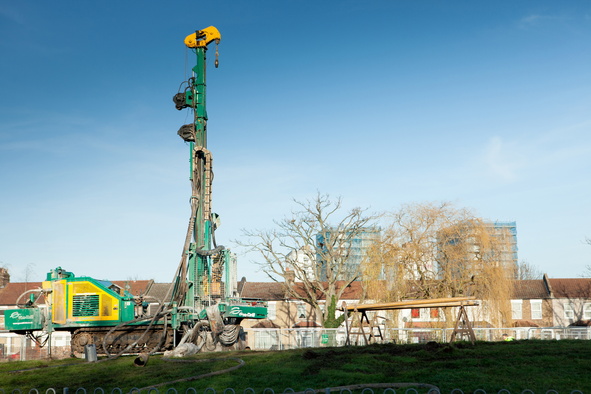 Work commences on England's largest district ground loop heat pump system