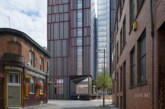 High gloss façade for student accommodation