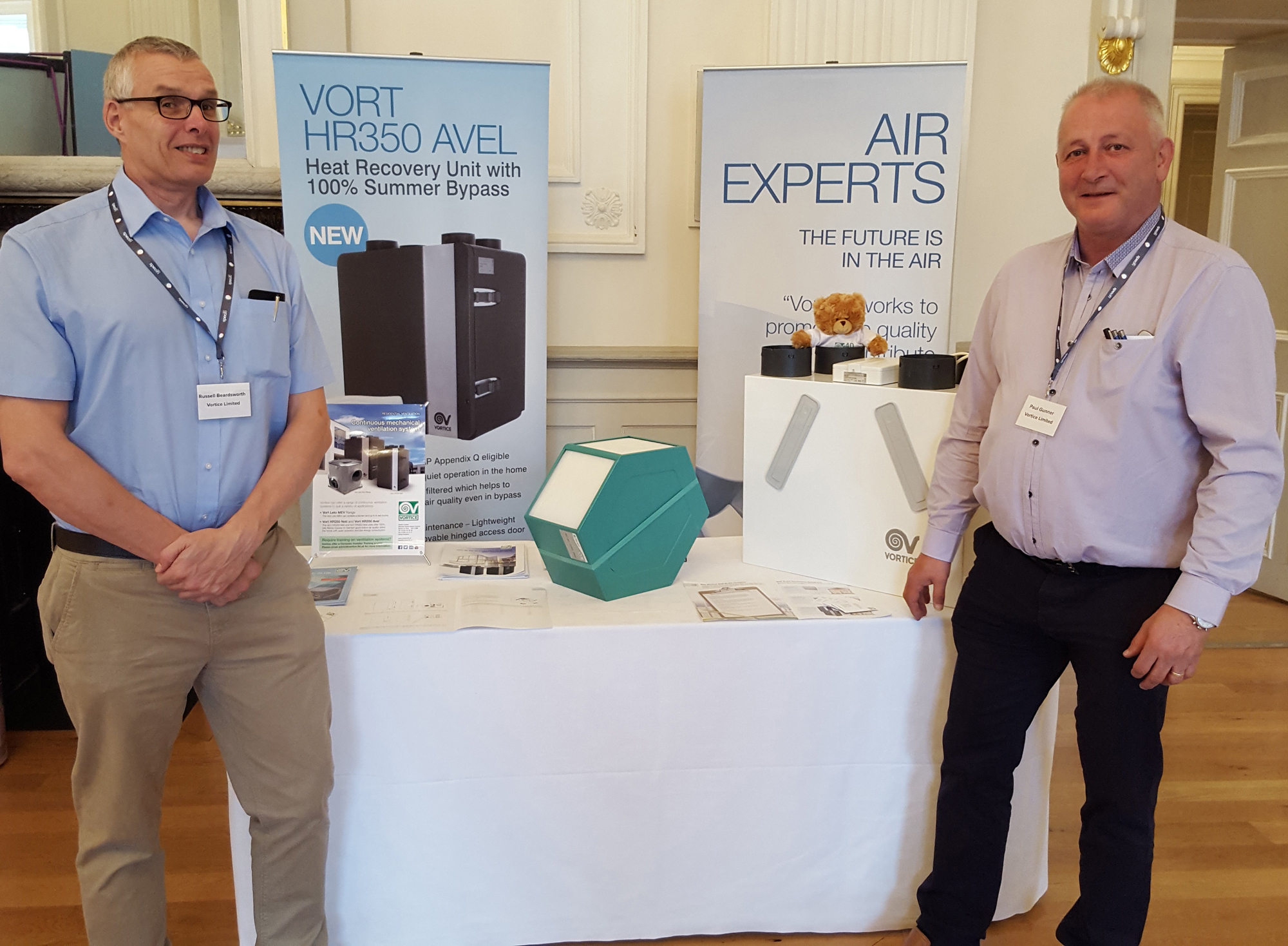 Vortice runs RIBA approved CPD sessions covering MVHR
