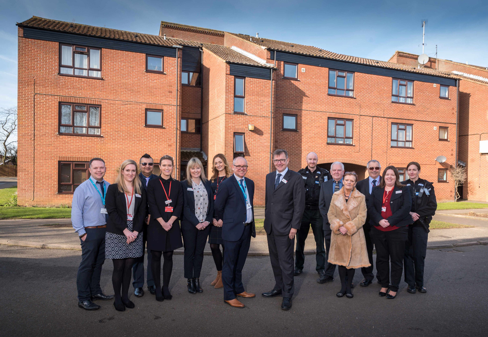 Heacham residents to benefit  from housing management transfer
