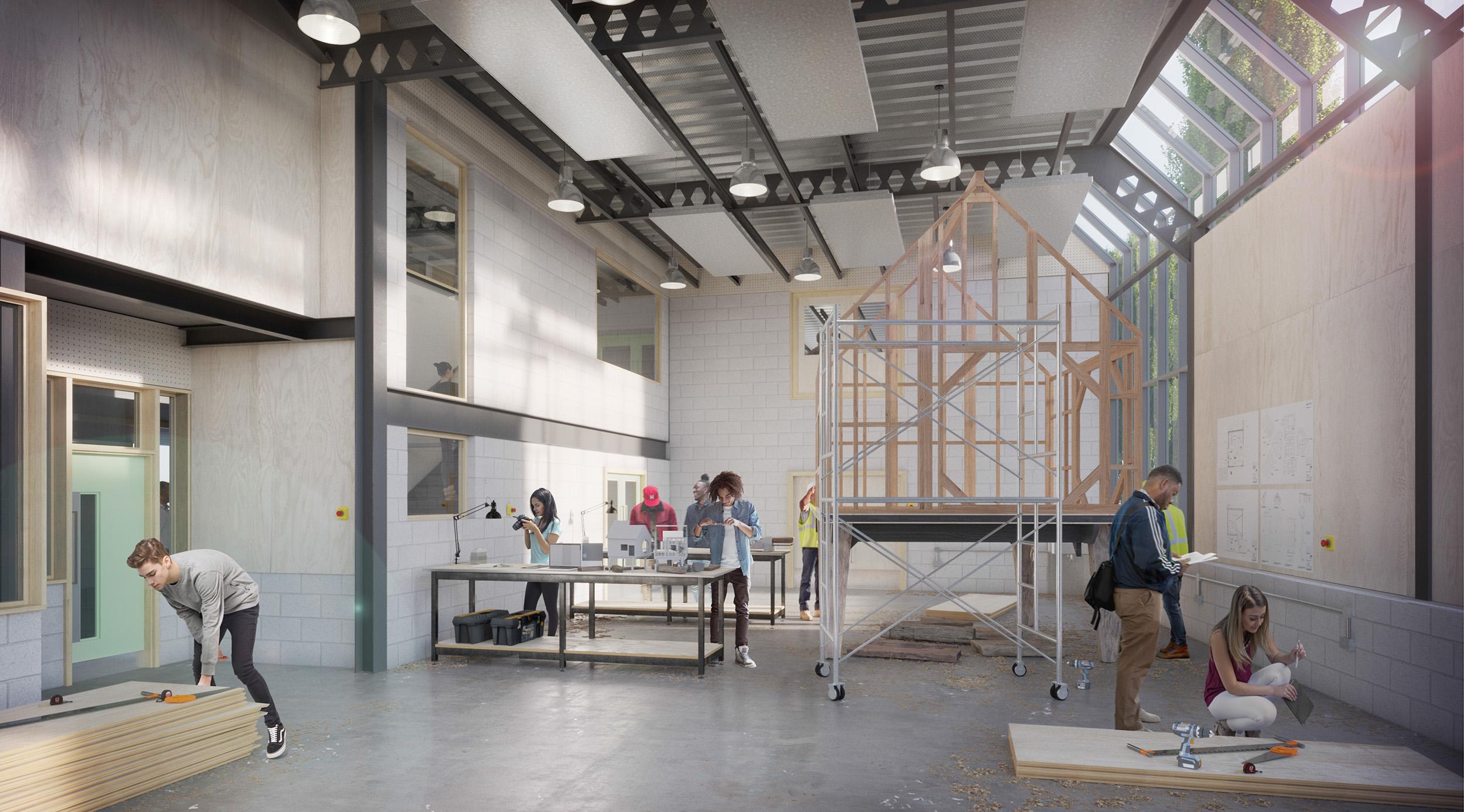 £30m Kingston School of Art campus refurbishment focuses on sustainability