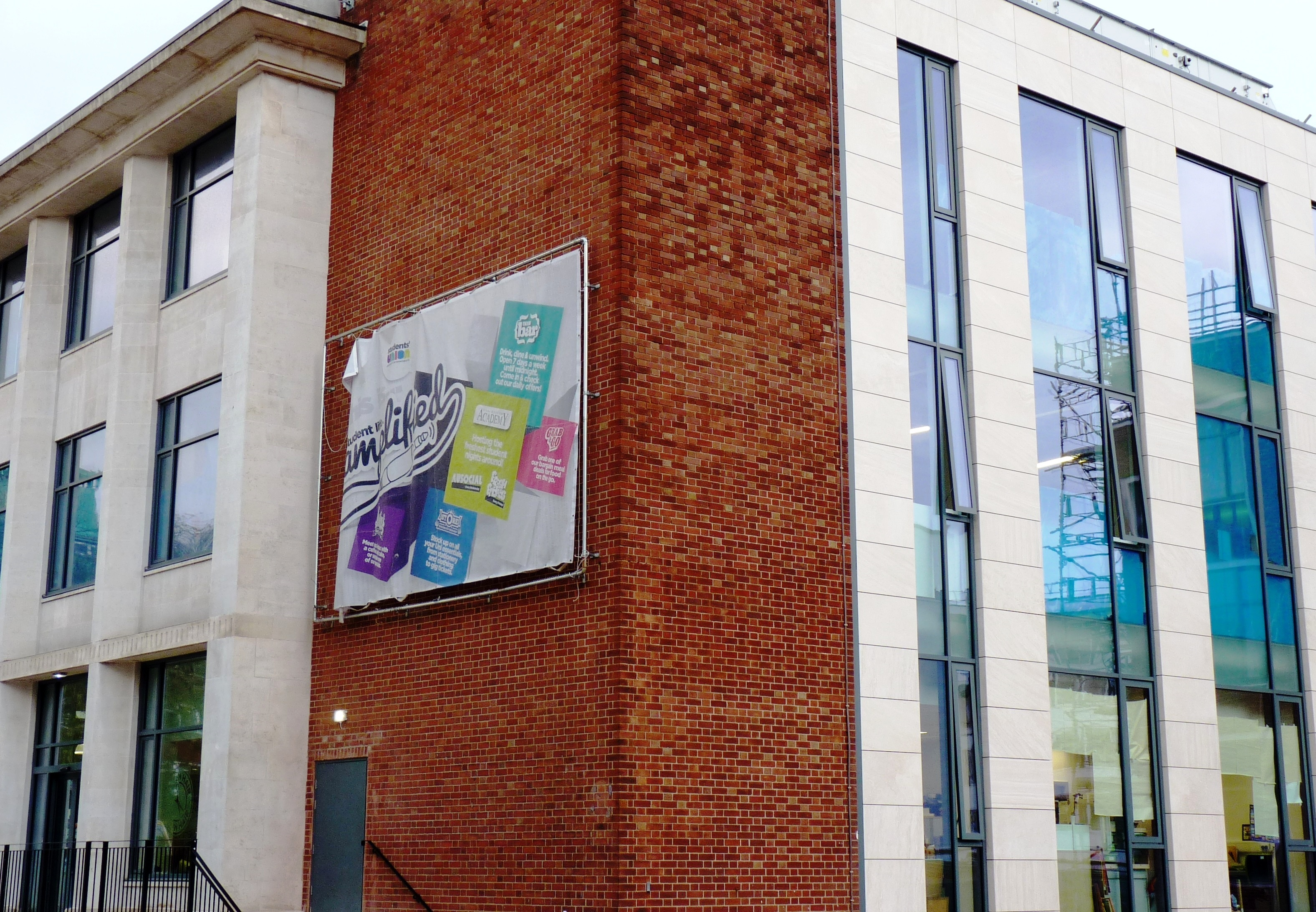 Cladding unites new and old at the University of Manchester