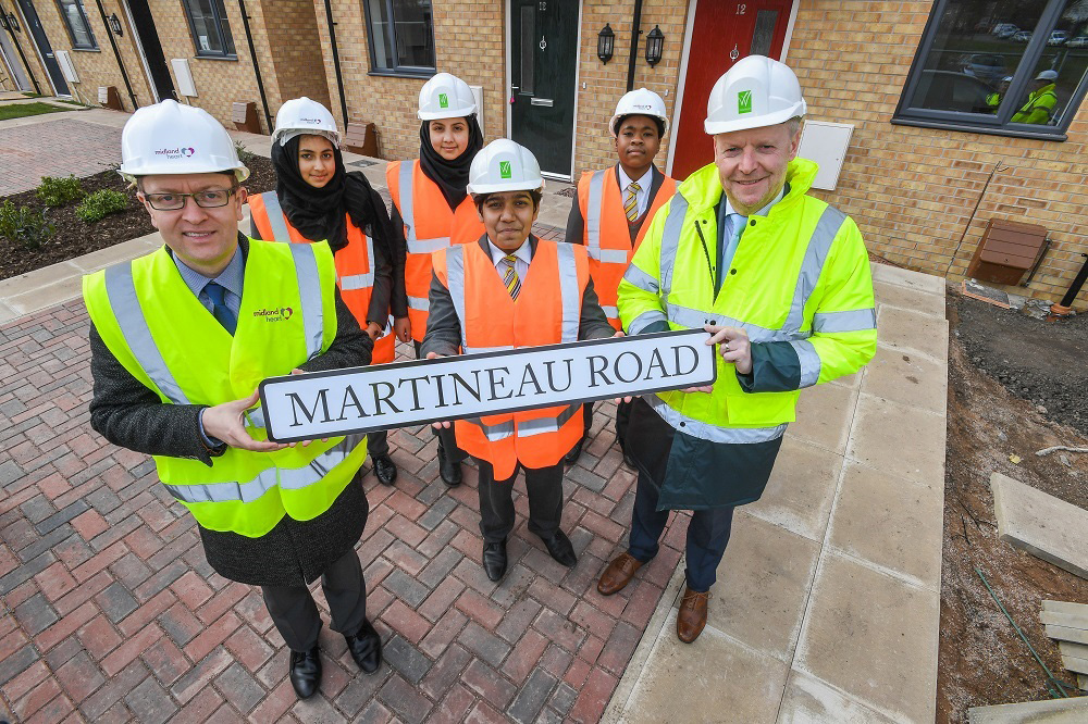 School pupils help name street on multimillion pound affordable housing scheme in Birmingham