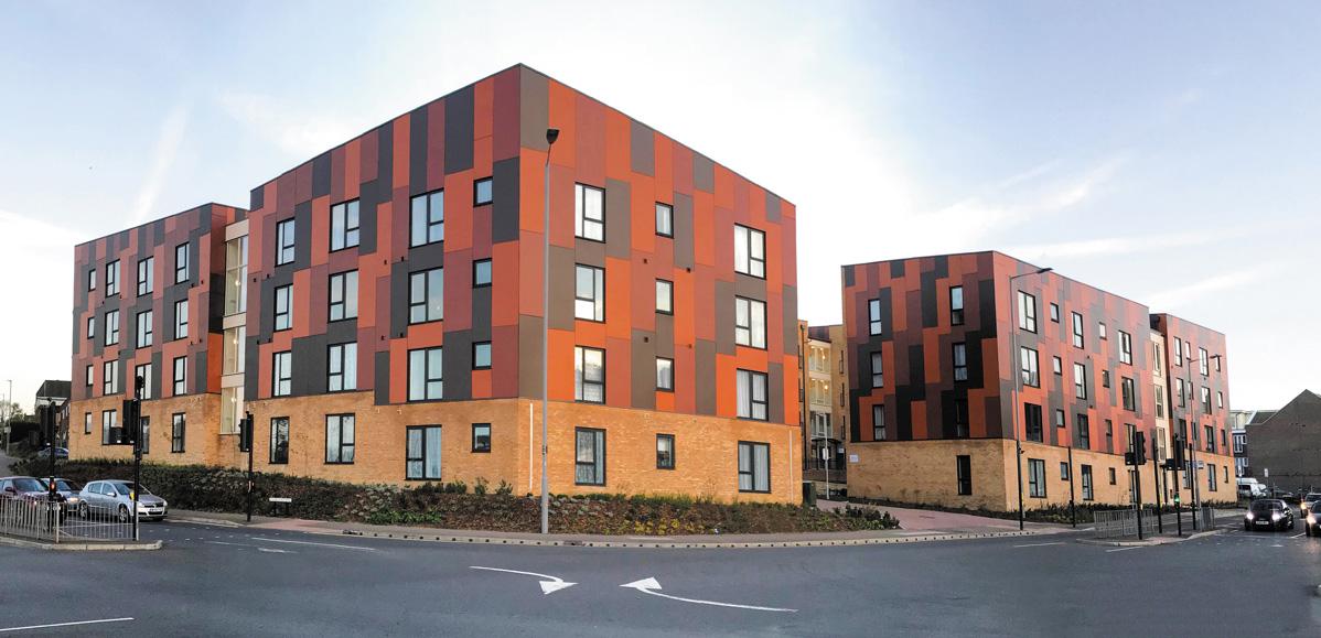 Paradigm Housing Group development utilises Comelit's SimpleBus door entry system