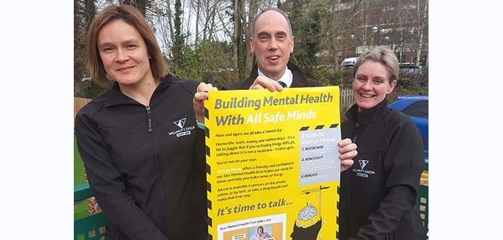 Willmott Dixon launches Mental Health First Aider initiative
