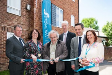 New Stonewater development of low-cost rental homes in Aldershot