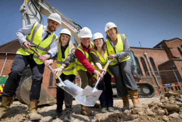 Stonewater begins work on affordable housing scheme that's funding St George's new community hub in Tilehurst
