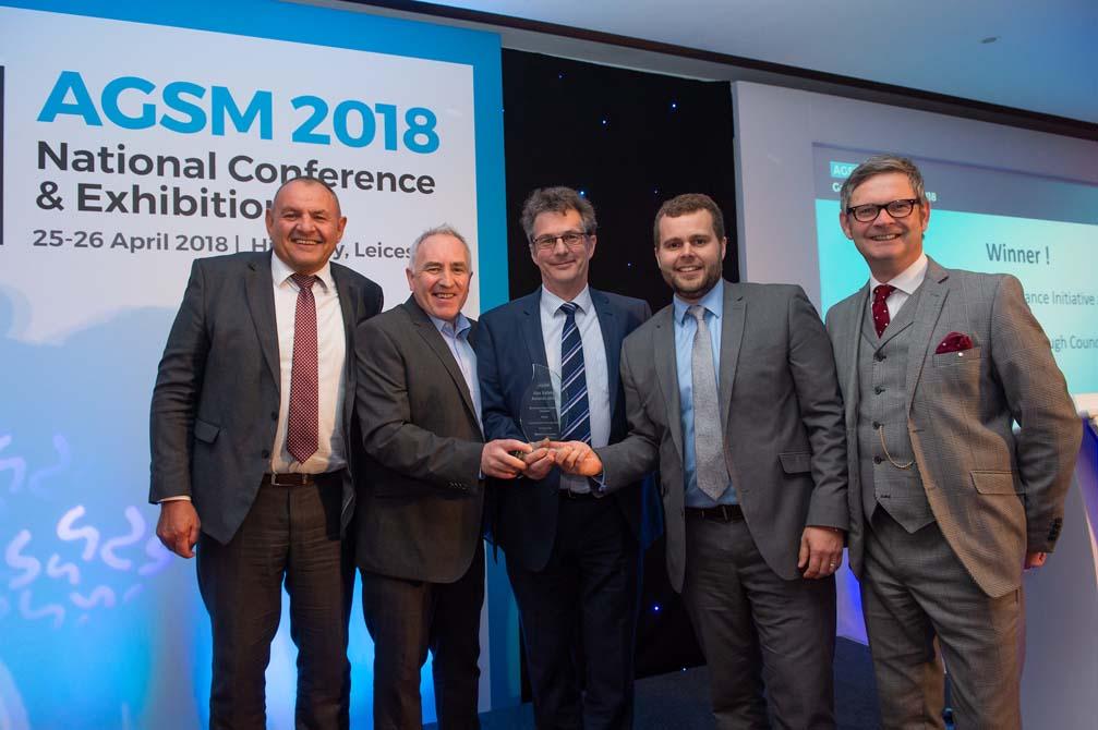 Taunton Deane Borough Council wins Social Housing Compliance award