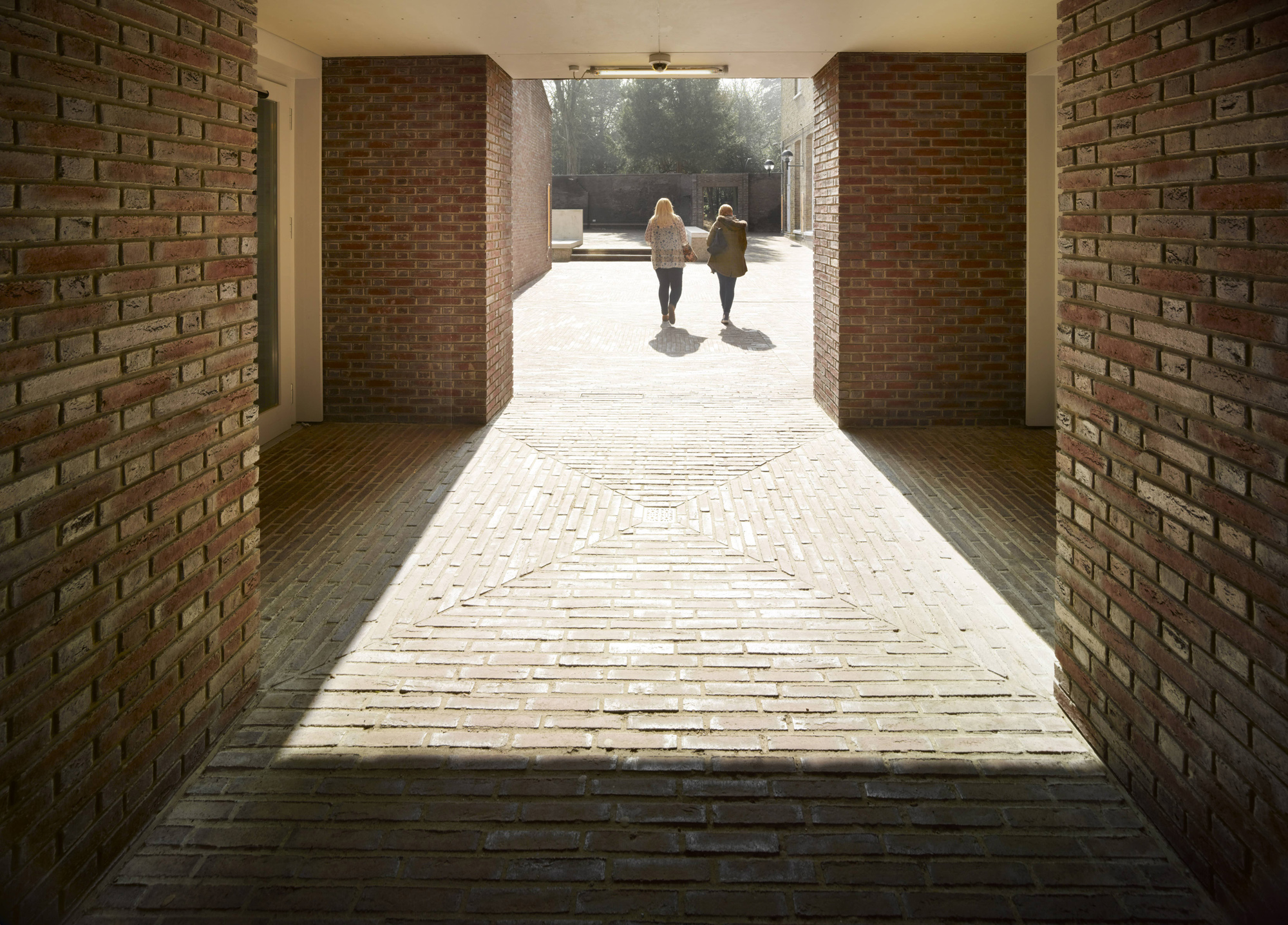Wienerberger transforms shed space into student social square