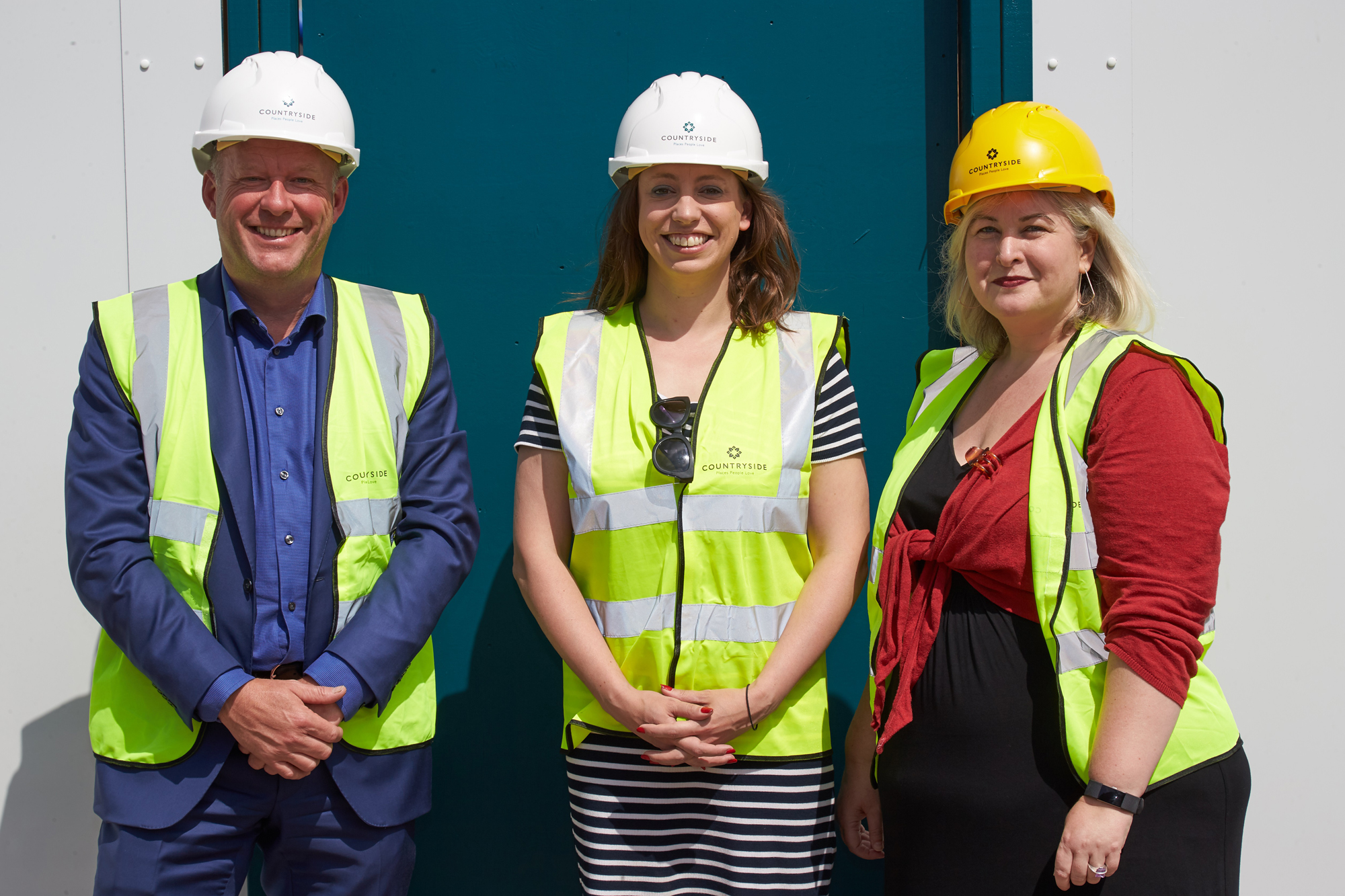 Topping out ceremony of first affordable homes marks the latest milestone at Feature17
