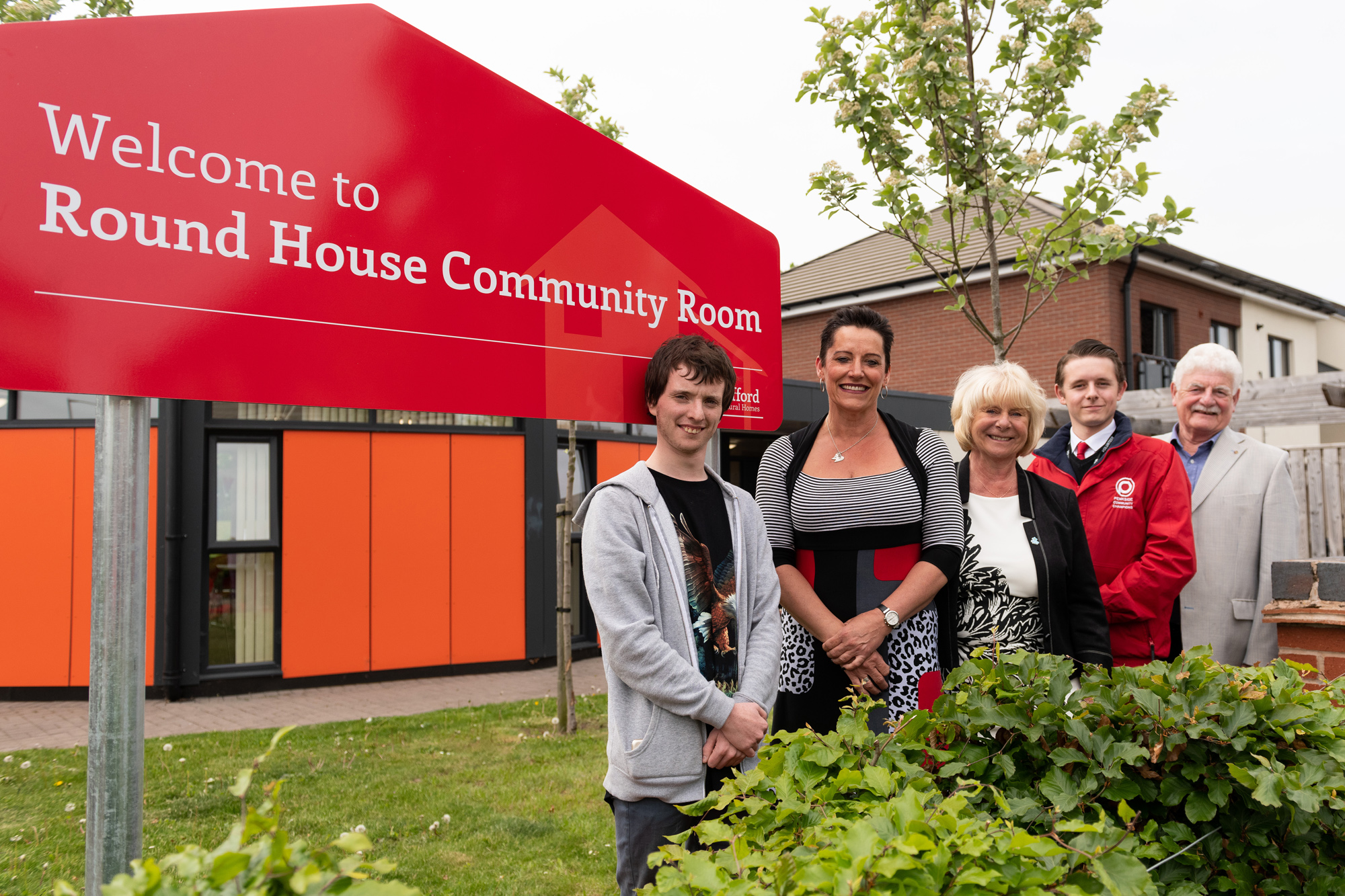 Community Room given boost by SARH regeneration project