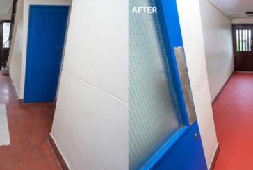 Dudley Metropolitan Borough Council specifies Gerflor Attraction vinyl tiles for  apartment block corridor areas