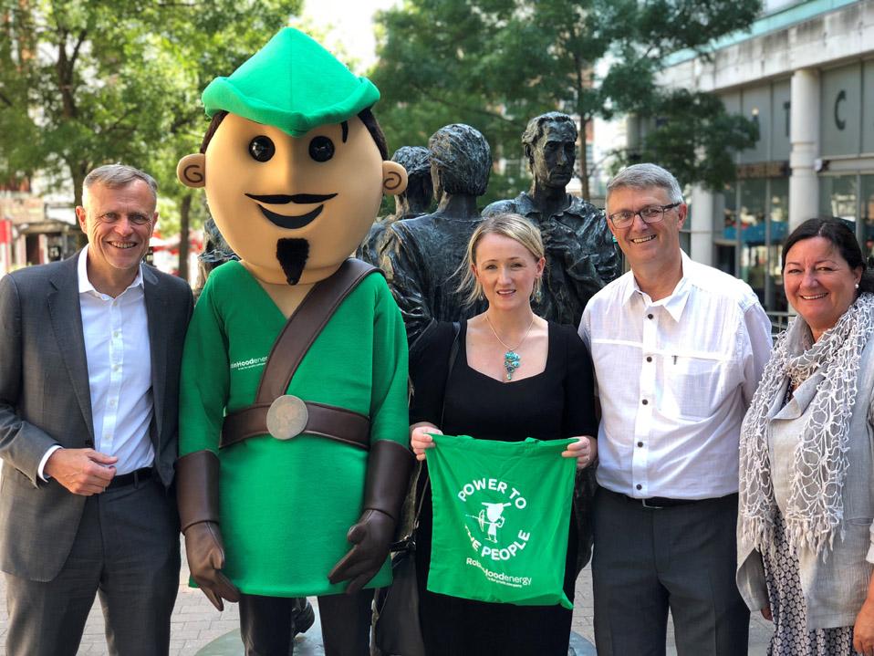 Shadow Secretary of State visits Robin Hood Energy