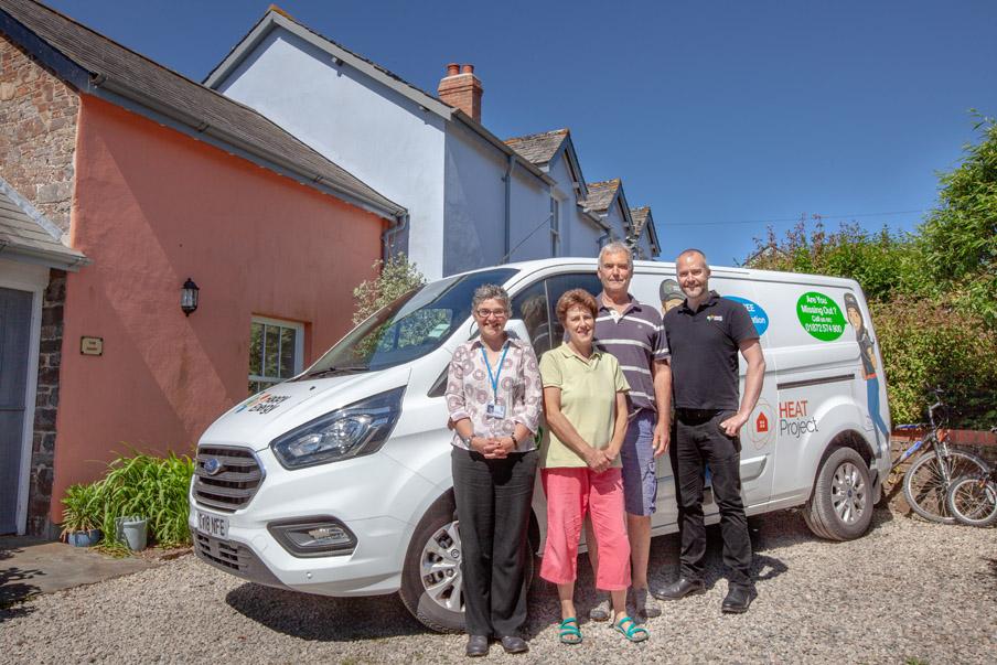 Torridge District Council launches new energy saving grant scheme in partnership with Heat Devon