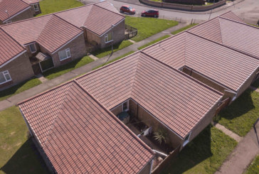 WDH give homes in Featherstone a roof refresh with concrete tiles from Wienerberger