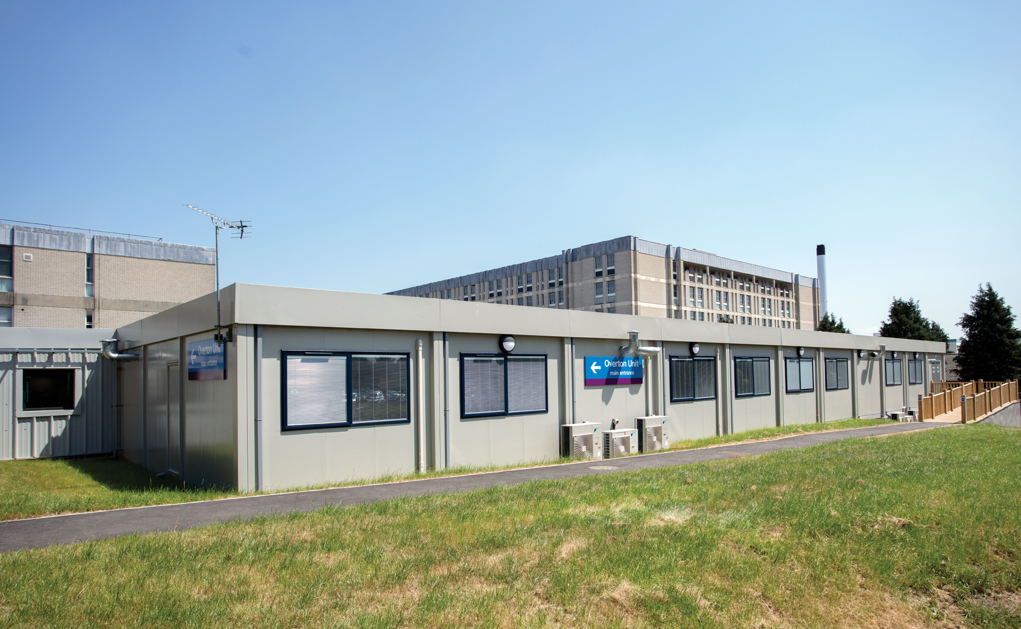 Portakabin eases pressure on hospital services in Hampshire