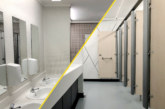 Washroom refurbishment services