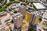 Rhodar wins contract to demolish three empty tower blocks on the Beech Hill estate in Halifax
