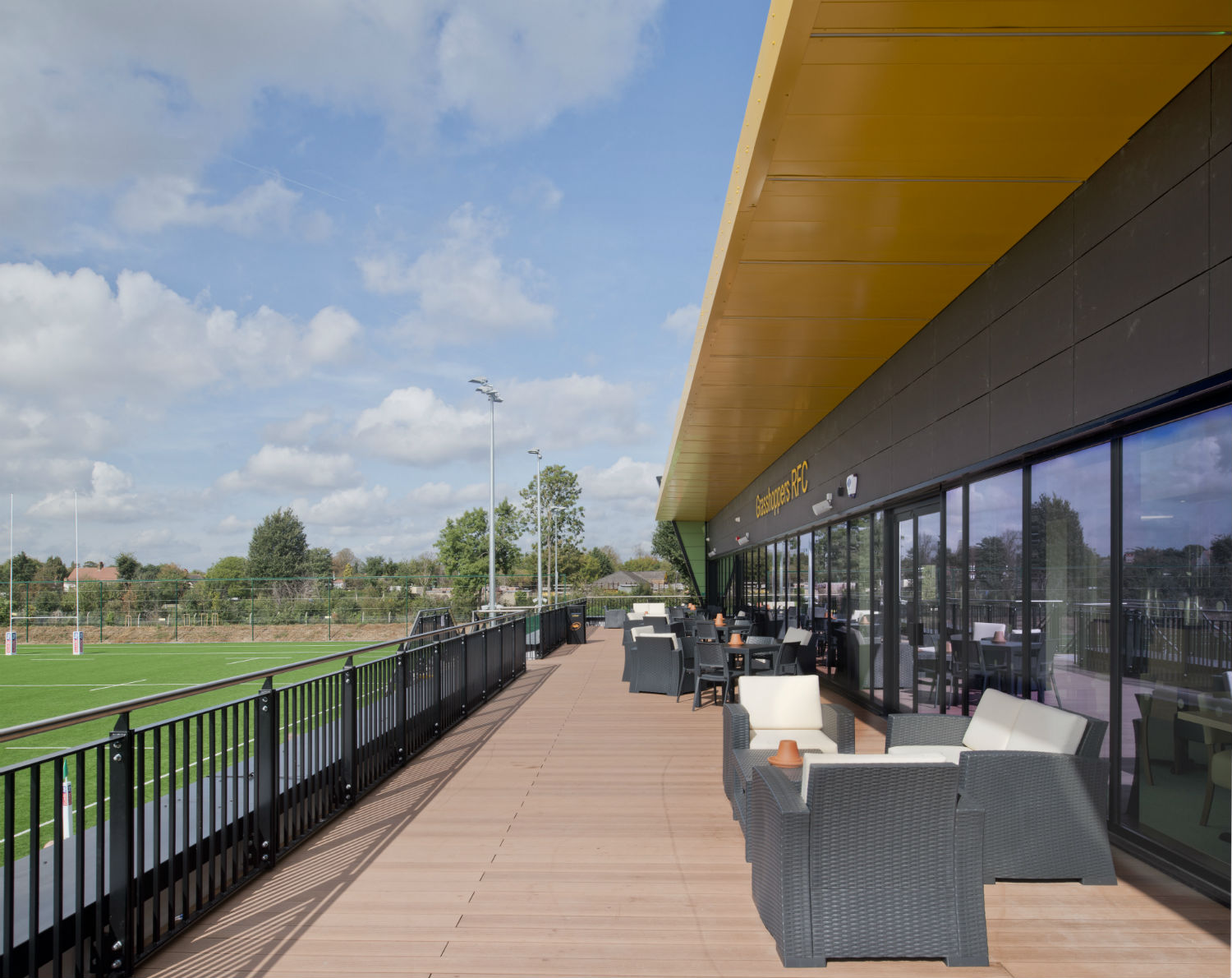 New £10m sports venue completes in west London