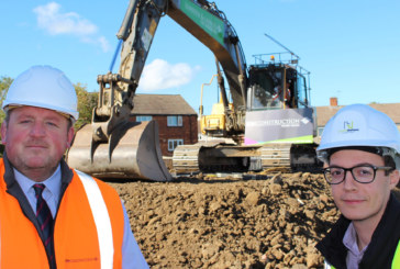 Work starts on 12 affordable bungalows in Bishop Auckland