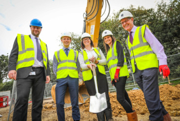 Stonewater celebrates construction start on 14 affordable homes in Horsham