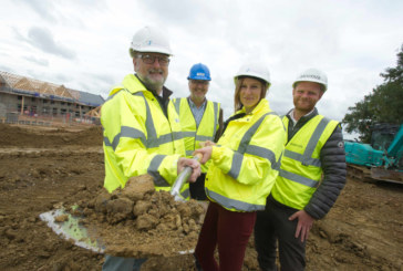 Shared Ownership Week marked in Castle Cary as work starts on new affordable housing scheme