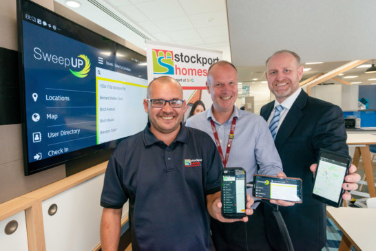 Stockport Homes aims to SweepUP its estates