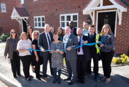 Stonewater delivers new affordable rural homes for locals in Long Itchington
