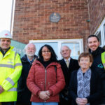 Plaque celebrates former Prime Minister's Manchester birthplace