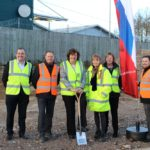 Ground-breaking event marks new council housing development in Apsley