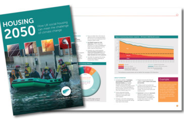 Action plan for social housing to meet CO2 emissions targets by 2050